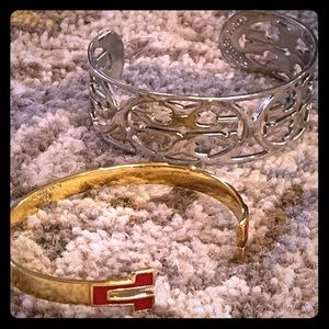 Tory Burch two gorgeous bangles 😘❤️🥰
